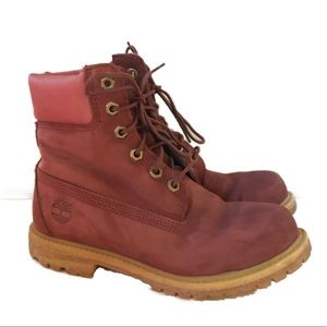 Timberland Leather Waterproof Lace Up Boots
